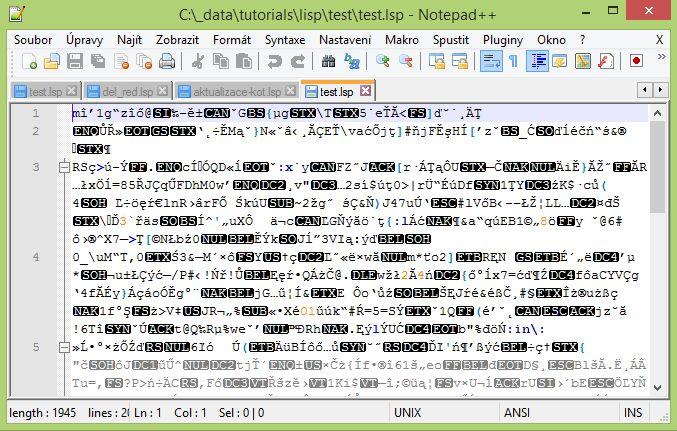 Šifrování LISP