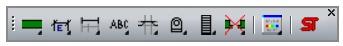 Nadstavba ST - Panel nástrojů