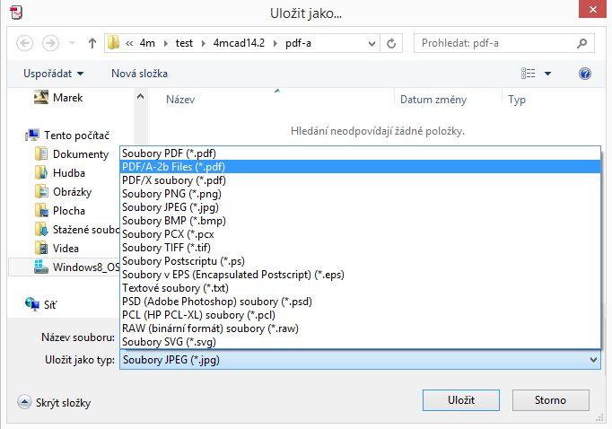 Tisk PDF/A